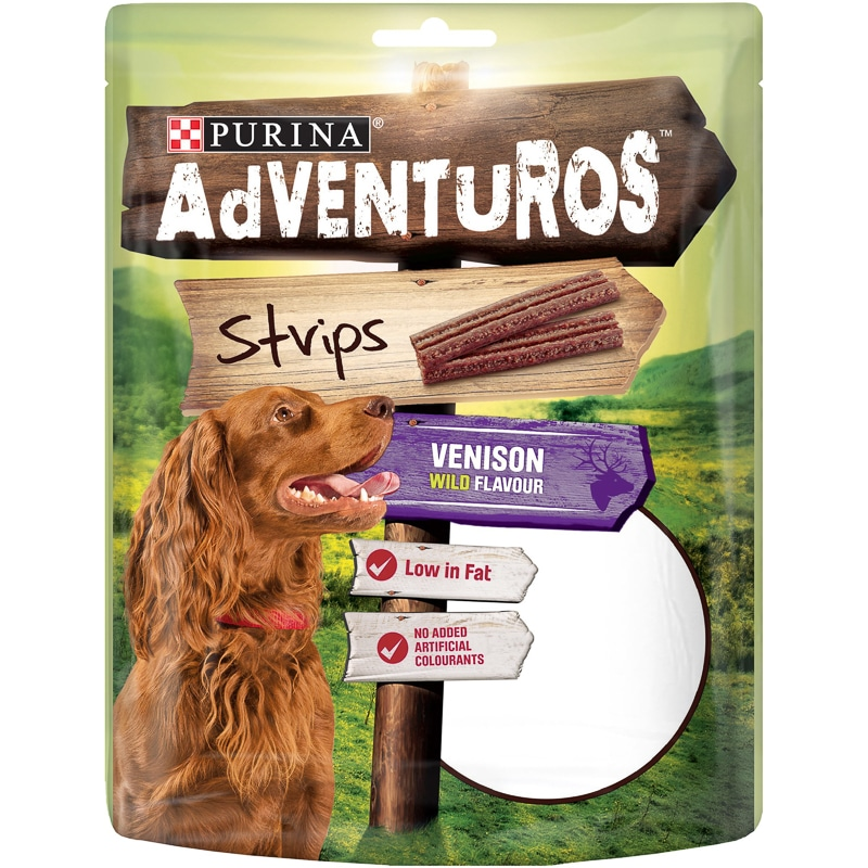 Purina Adventuros Strips - Venison Flavour 90g