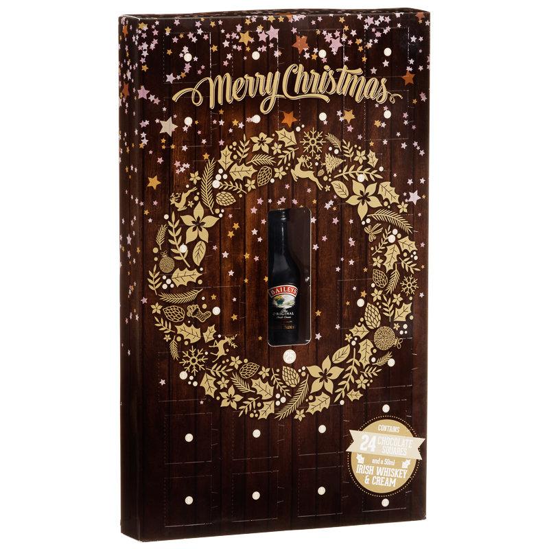 ... Alcohol Gift Sets Baileys Original 5cl & Chocolate Advent Calendar