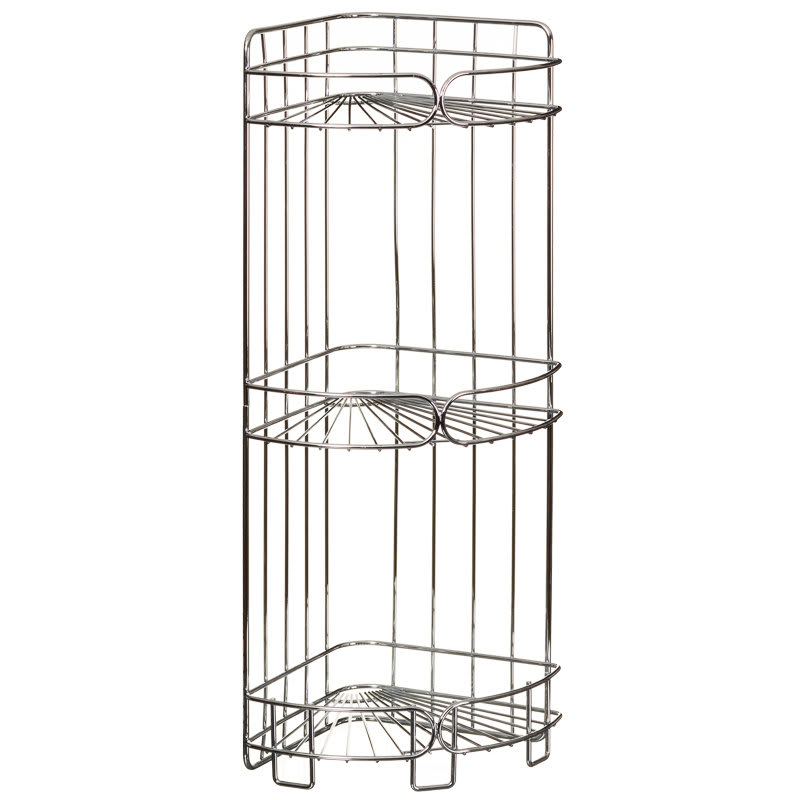 3 Tier Corner Bathroom Caddy | Bathroom Accessories - B&M
