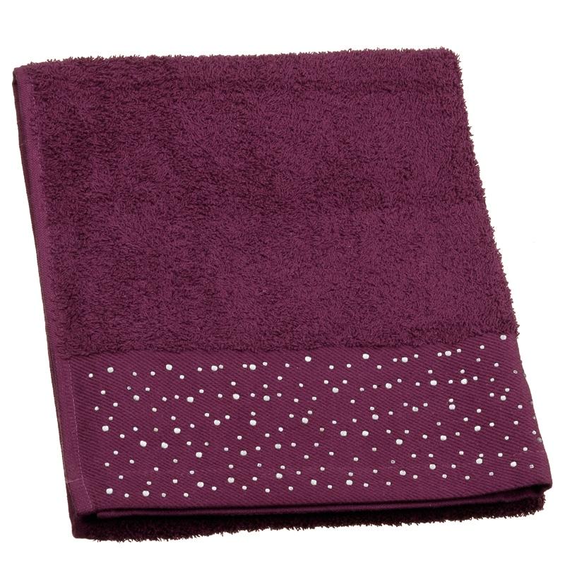 Sparkle Diamante Hand Towel Home Bathroom B Amp M