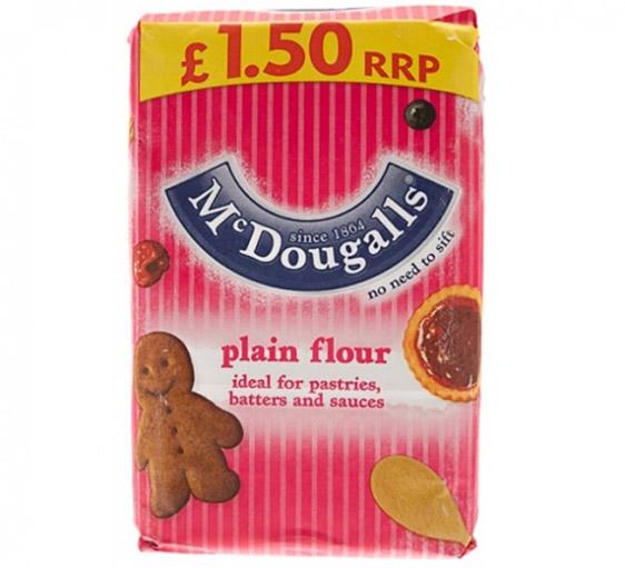 Mcdougalls Plain Flour 1 25kg Groceries Baking B Amp M