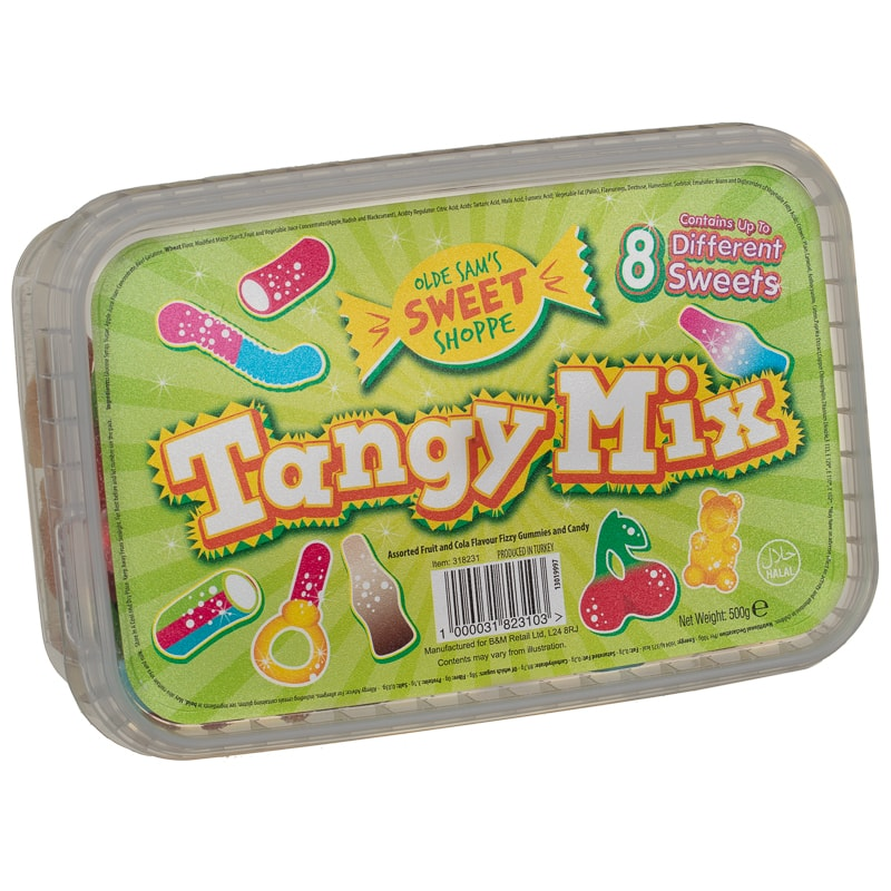 Olde Sam S Sweet Shoppe Tangy Mix 500g Sweets B Amp M