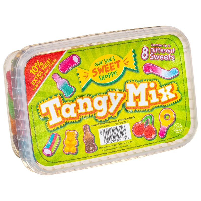 Olde Sam's Sweet Shoppe Tangy Mix 550g