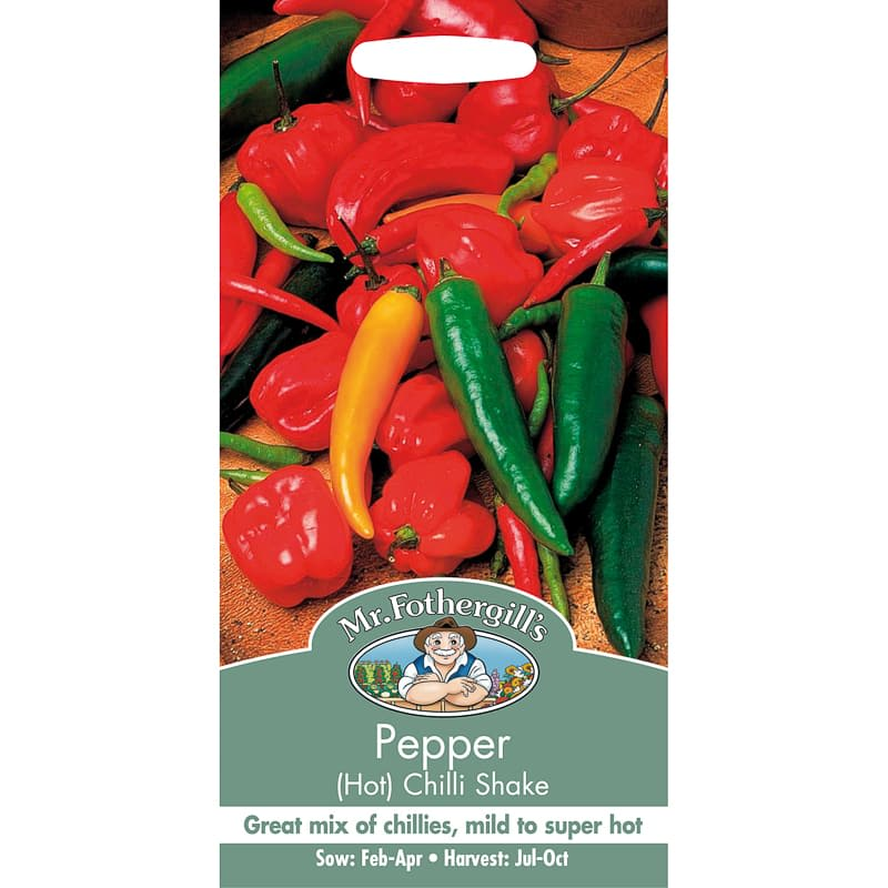 Pepper (Hot) Chilli Shake Seeds