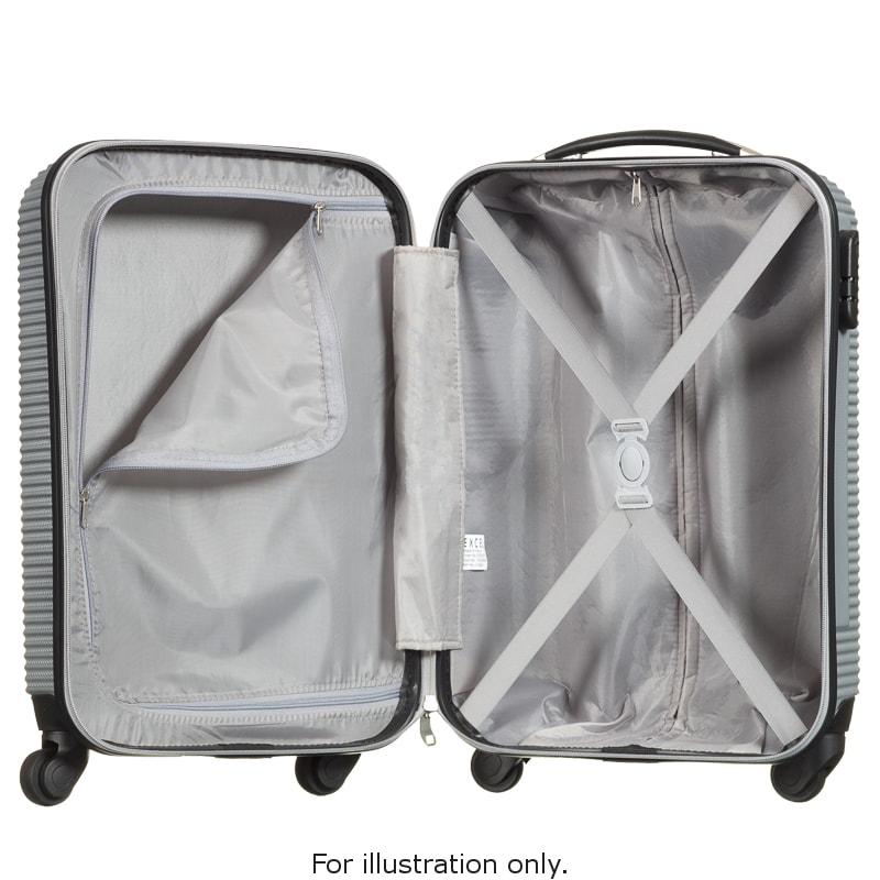 excel suitcase 68cm nova hardshell luggage b m stores. Black Bedroom Furniture Sets. Home Design Ideas