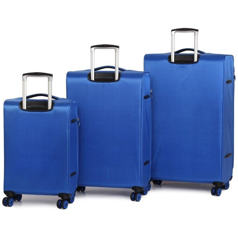 The Lite Ultra Lightweight Suitcase 70cm Blue Luggage
