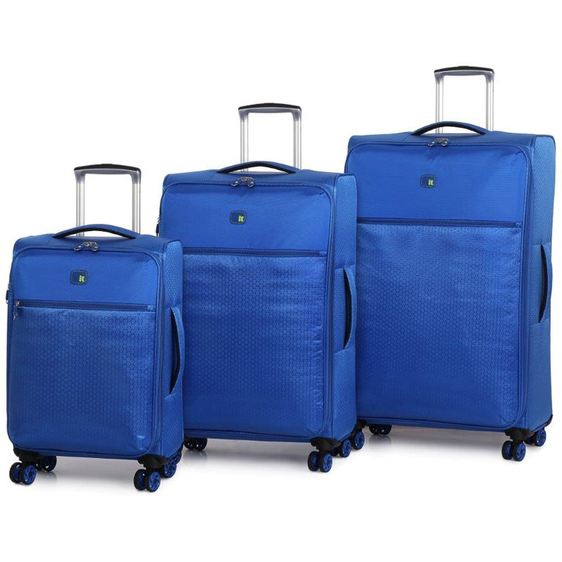 the lite ultra lightweight suitcase 70cm blue luggage. Black Bedroom Furniture Sets. Home Design Ideas