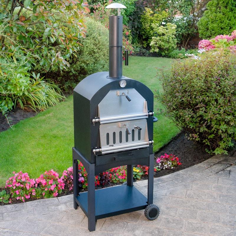 Wood Fired Pizza Oven | BBQs, Garden Oven, Garden - B&M