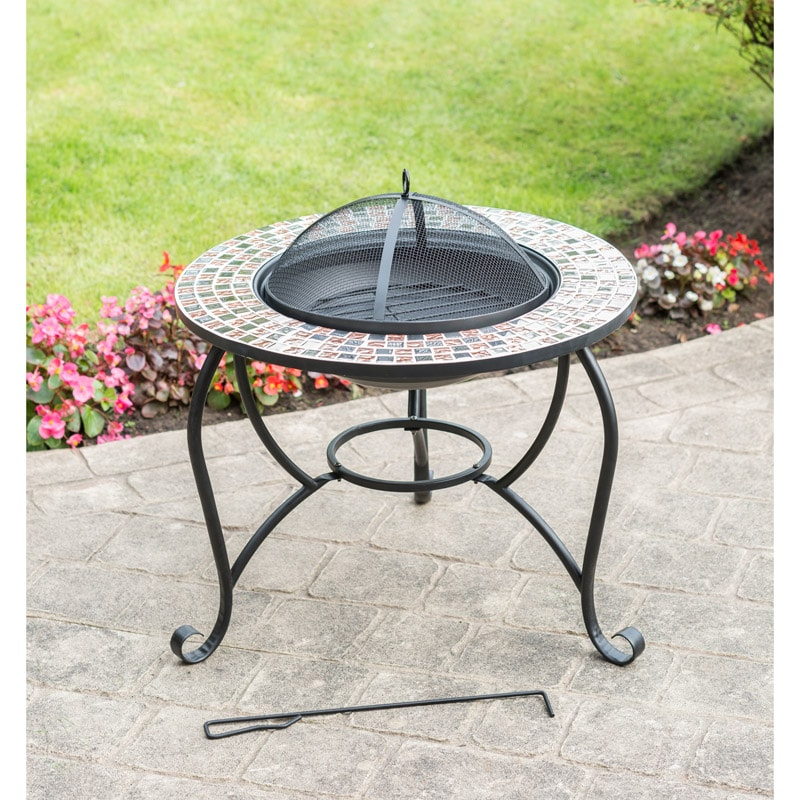 Mosaic Fire Pit Garden Amp Outdoor Heating