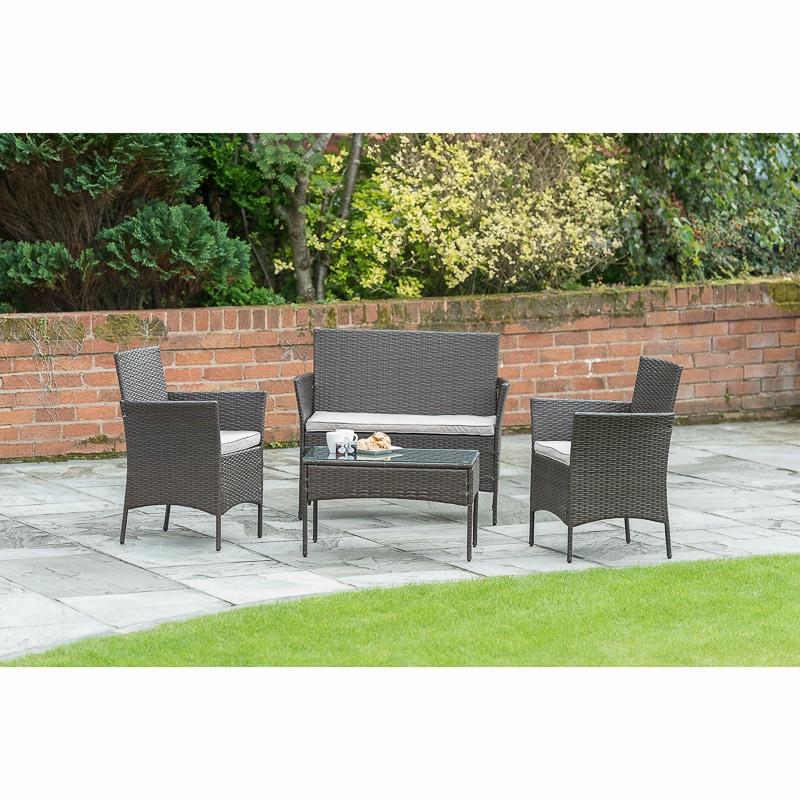 venice sofa set 4pc garden furniture b m. Black Bedroom Furniture Sets. Home Design Ideas