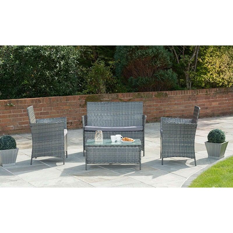 Garden Furniture Set Reclining Chairs Sofa Gt
