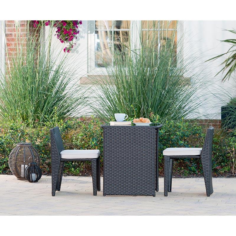 Venice Compact Bistro Set Garden Furniture B Amp M