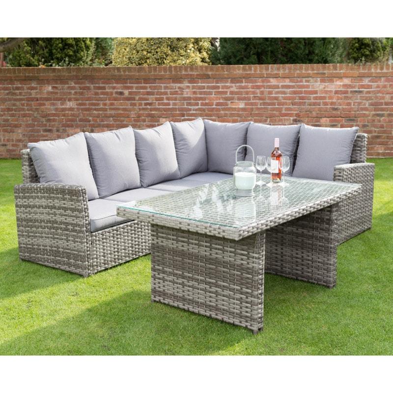 canterbury premium corner dining set garden furniture b m. Black Bedroom Furniture Sets. Home Design Ideas