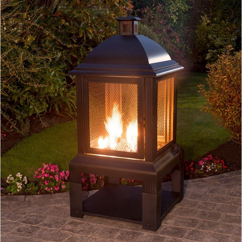 Aspen Log Burner With Log Tray Garden Chimeneas Bm