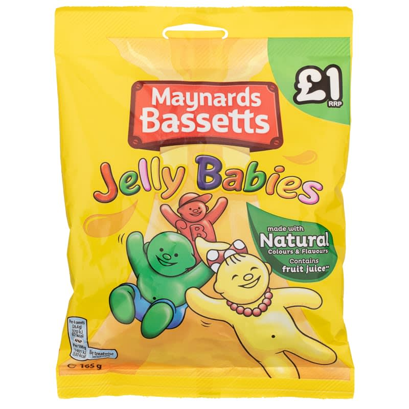 Bassetts Jelly Babies 165g