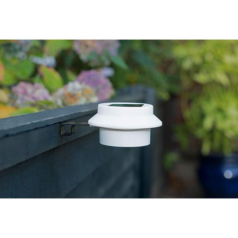 Solar Gutter Lights 4pk Solar Garden Lighting B Amp M