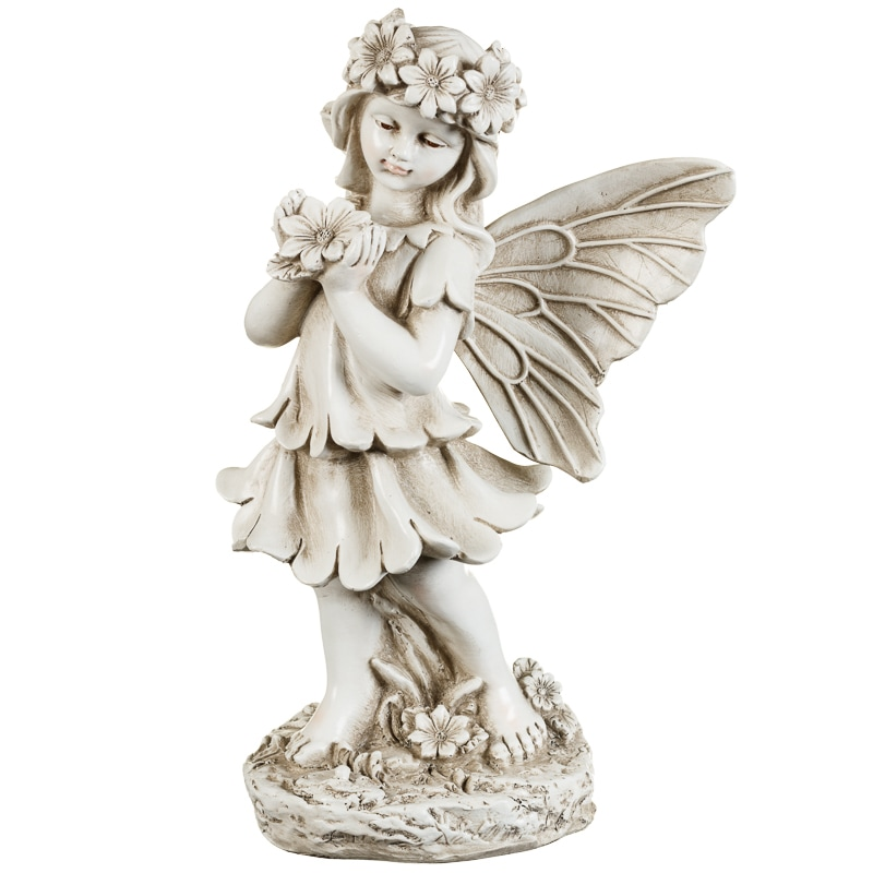 Garden Fairy Statue Garden Decorative Ornaments B Amp M