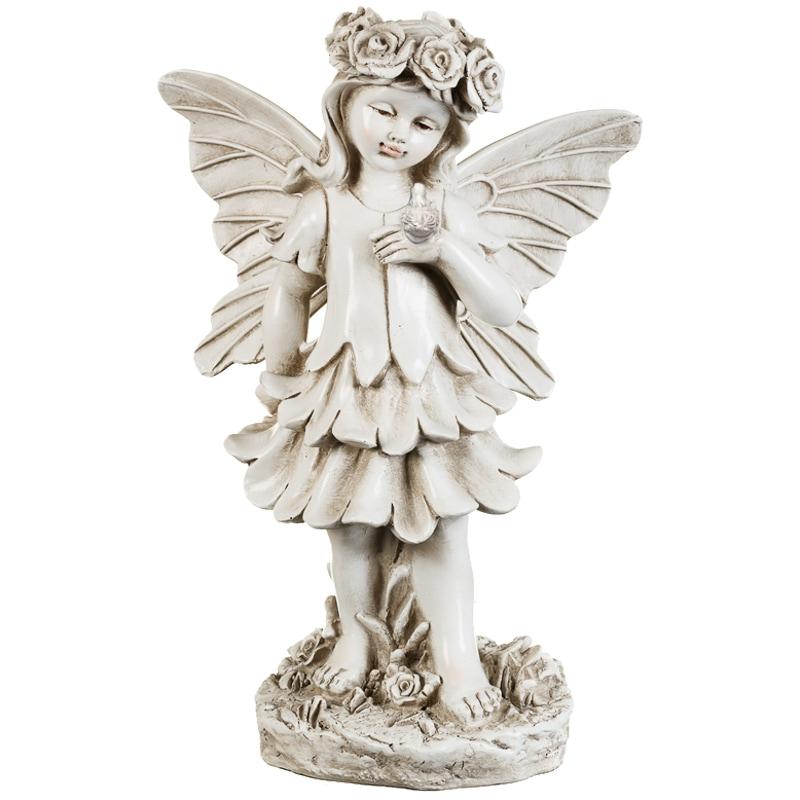 Garden Statue Fairy: Decorative Ornaments - B&M