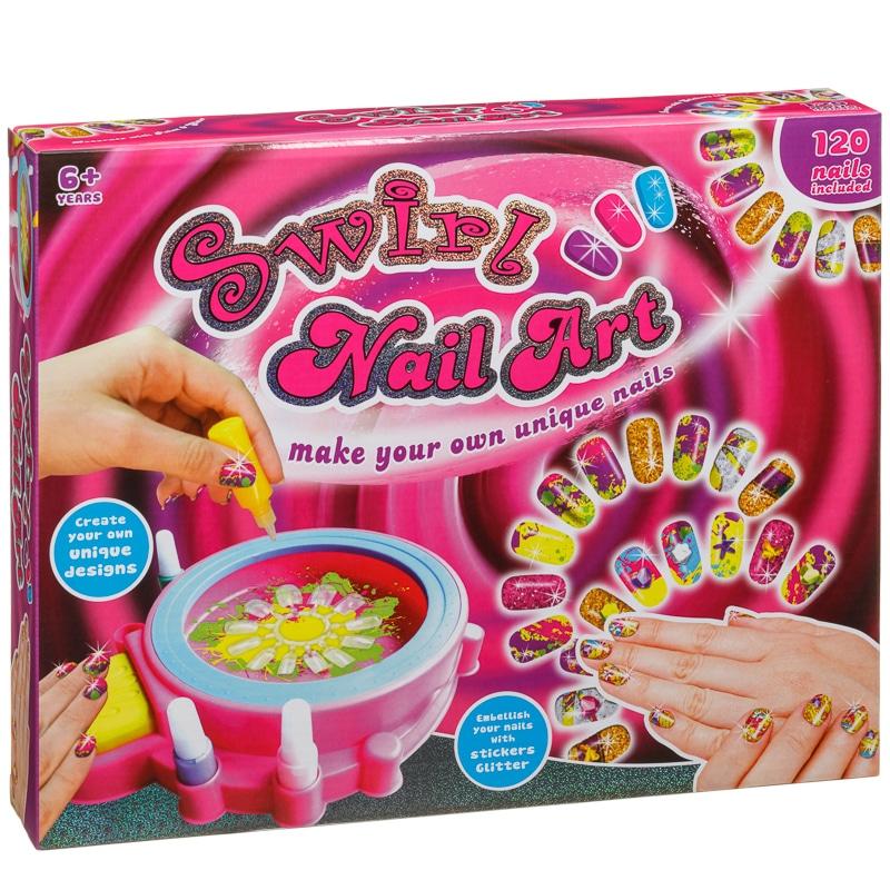 Swirl Nail Art | Craft & Design Toys - B&M