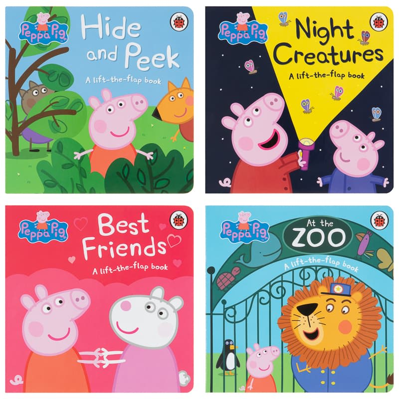 Peppa Pig Lift-the-Flap Book - Hide & Peek