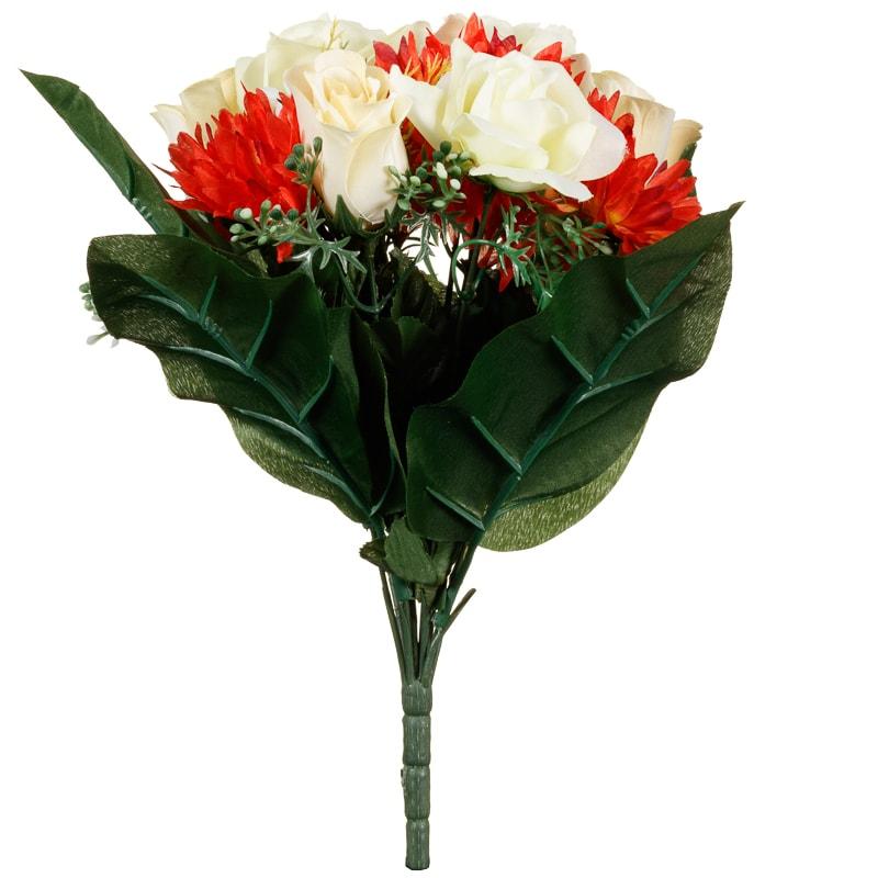 Floral Bouquet Large Artificial Fowers - B&M