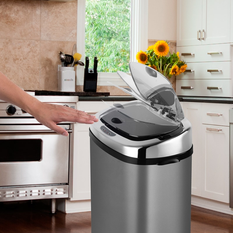 Outdoor Kitchen Dimensions Presented To Your Place Of: Morphy Richards Titanium Sensor Bin 50L