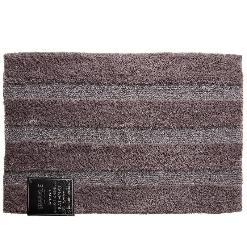Sparkle Deluxe Chenille Bath Mat Home Bathroom B Amp M