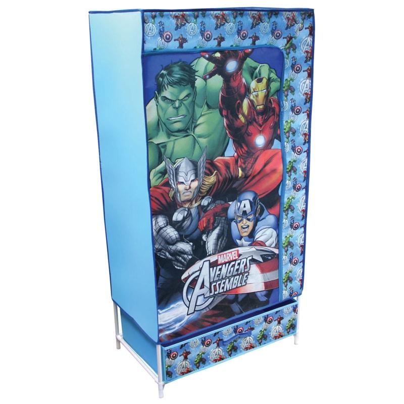 Marvel Baby Gifts Uk : Marvel avengers kids canvas wardrobe furniture b m