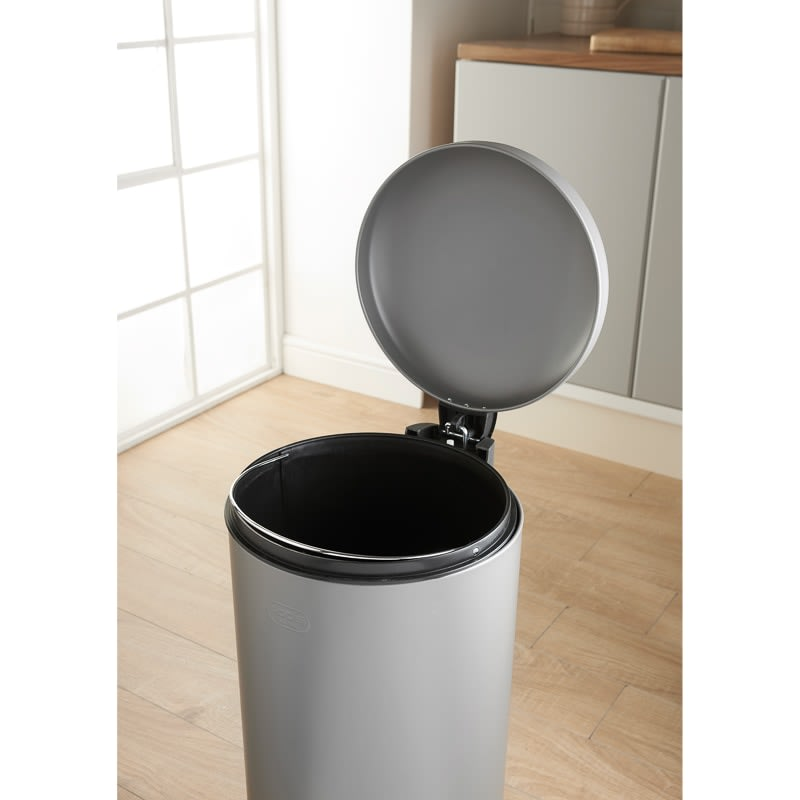 Addis Soft Close Kitchen Bin 30L - Grey
