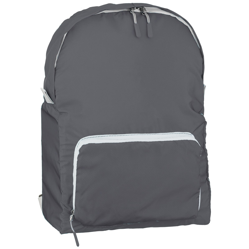 Foldable Back Pack Cool Grey Travel Accessories B Amp M