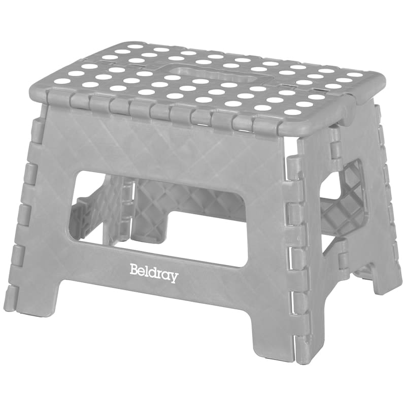 Peachy Beldray Collapsible Step Stool Grey Beatyapartments Chair Design Images Beatyapartmentscom