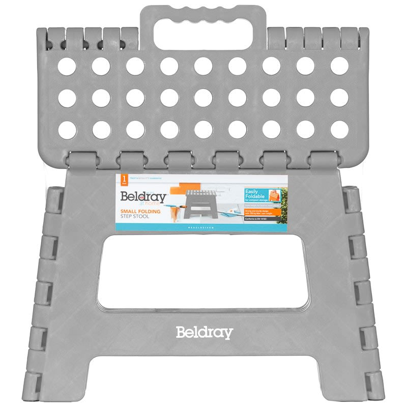 Beldray Collapsible Step Stool - Grey