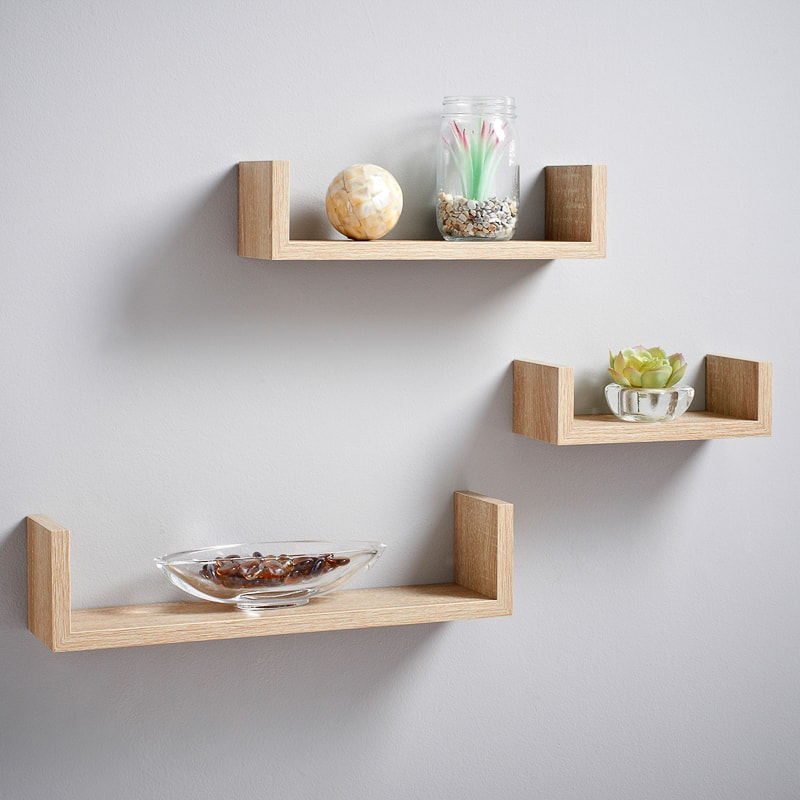 timeless design dea31 bee6d Lokken Floating Shelves