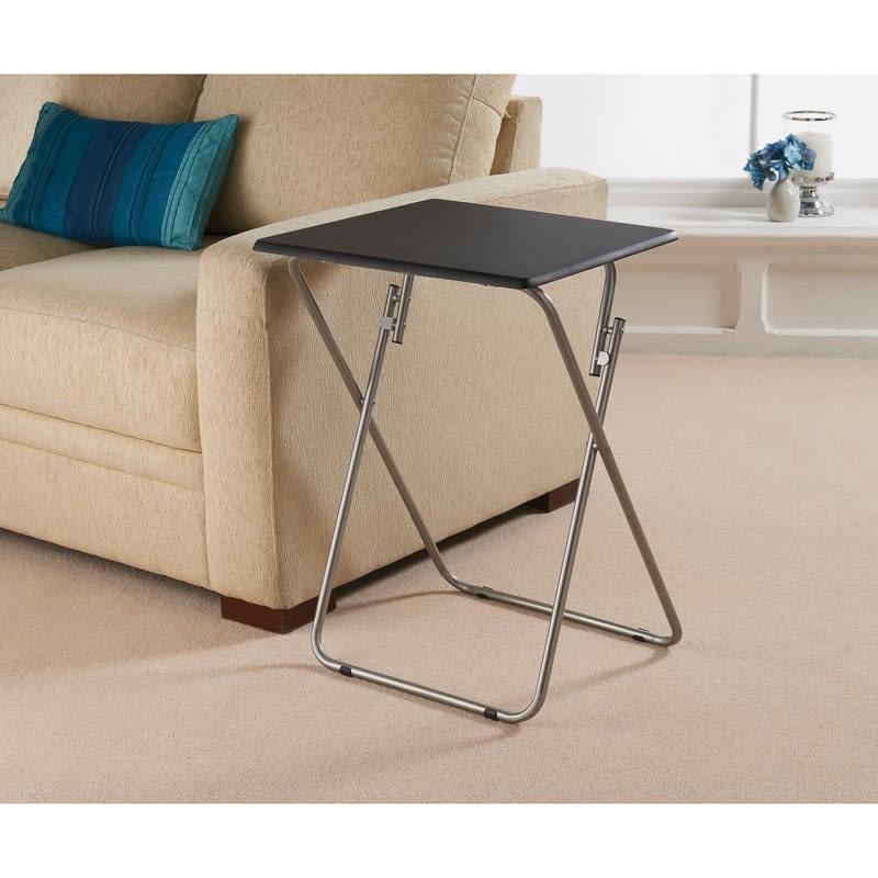 Folding Side Table Living Room Furniture B M