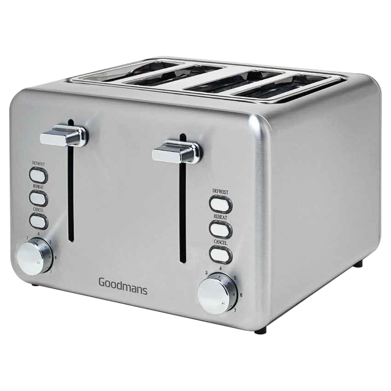 4 slot toaster stainless steel dog crap training reviews