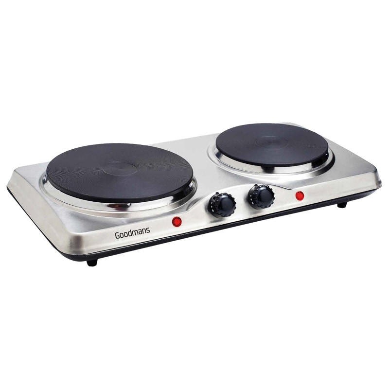 Goodmans Stainless Steel Double Hot Plate Kitchen B Amp M