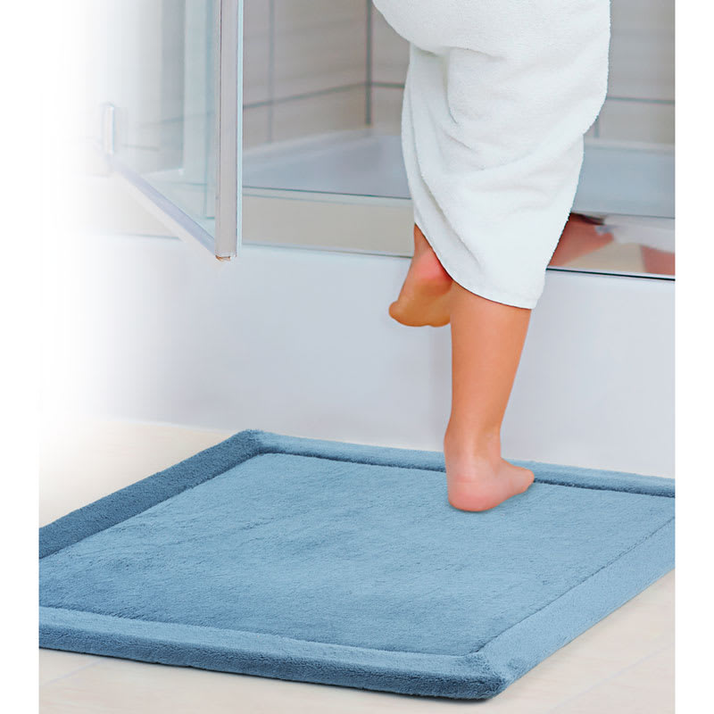 how to clean bathroom shower mats