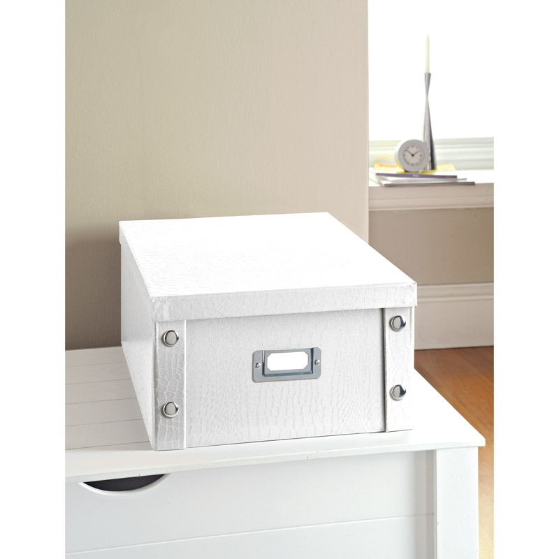 320269 LargeStorageBox Croc White