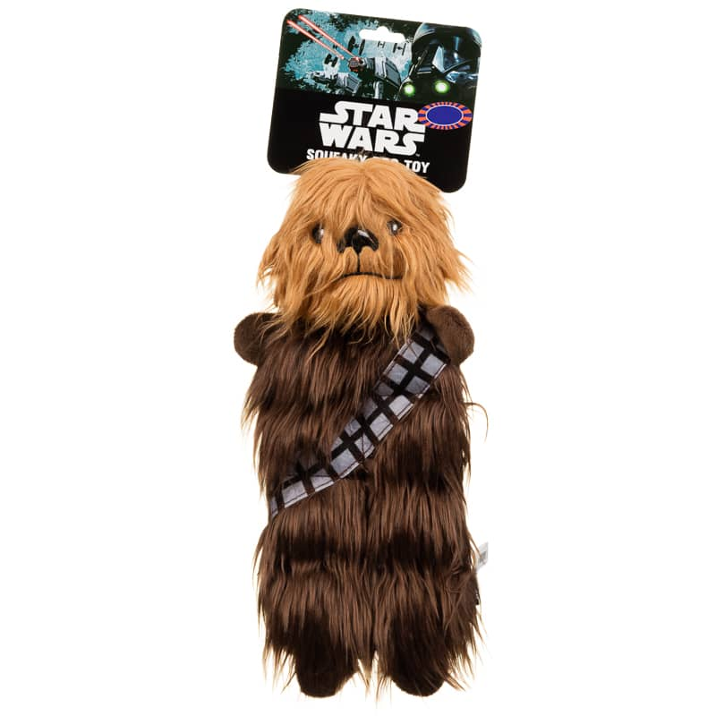 Star Wars Squeaky Dog Toy - Chewbacca | Pets - B&M