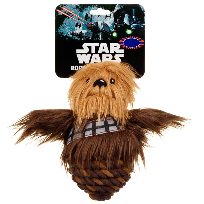 Star Wars Rope Ball Dog Toy Chewbacca Pets B Amp M