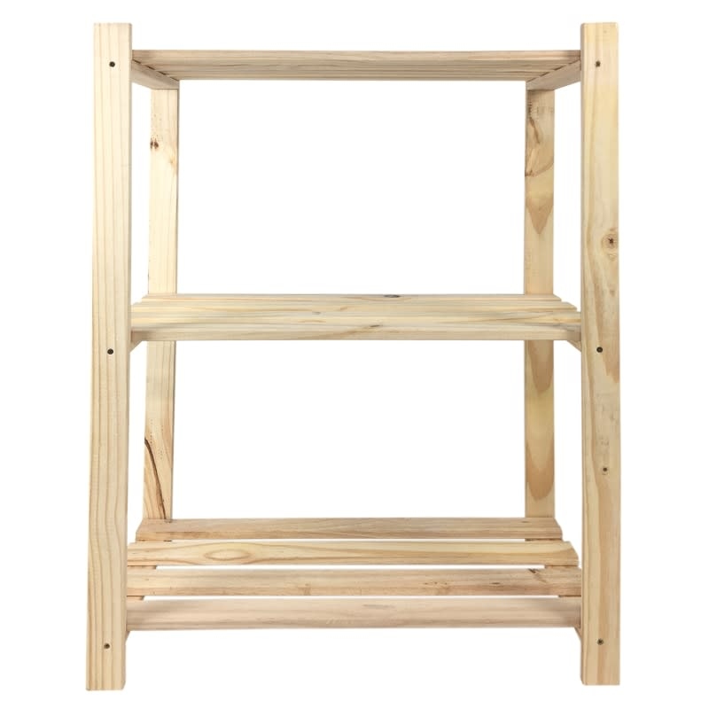 Lovon 3 Tier Pine Shelf Diy Shelving B Amp M