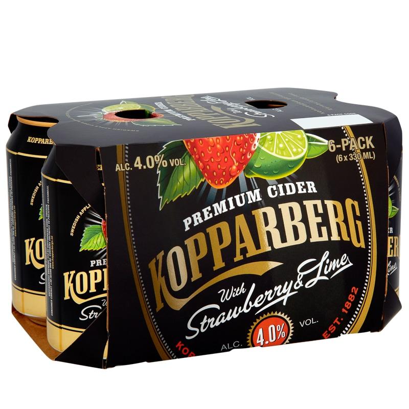 Kopparberg Strawberry Amp Lime Cider Cider Alcohol B Amp M