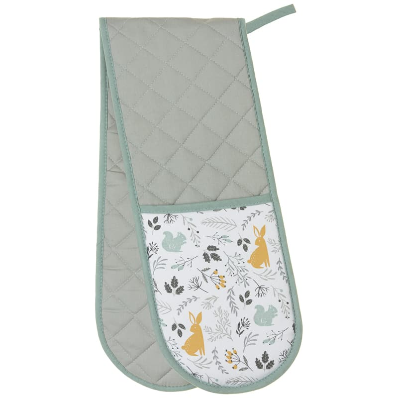 Karina Bailey Traditional Double Oven Glove - Woodland