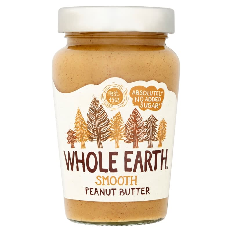 Whole Earth Smooth Peanut Butter 340g