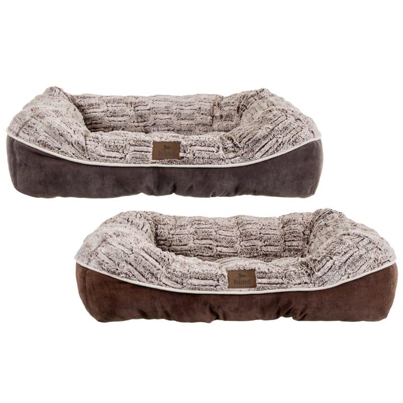 Hund Square Nuzzle Dog Bed | Pets | Dog Beds & Bedding - B&M