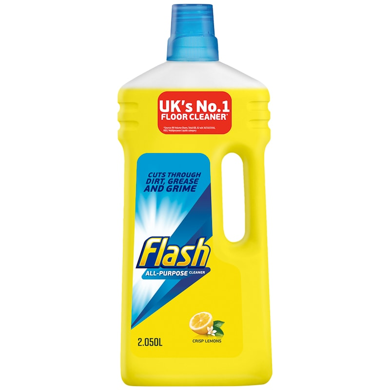 Flash All-Purpose Cleaner 2.05L - Lemon