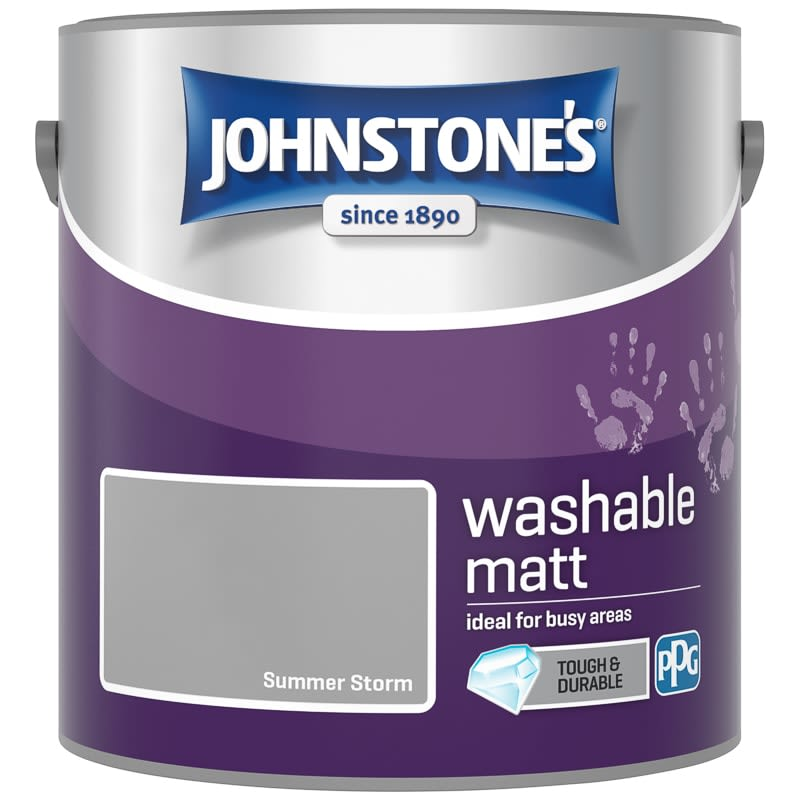 Johnstone's Washable Matt Paint - Summer Storm 2.5L