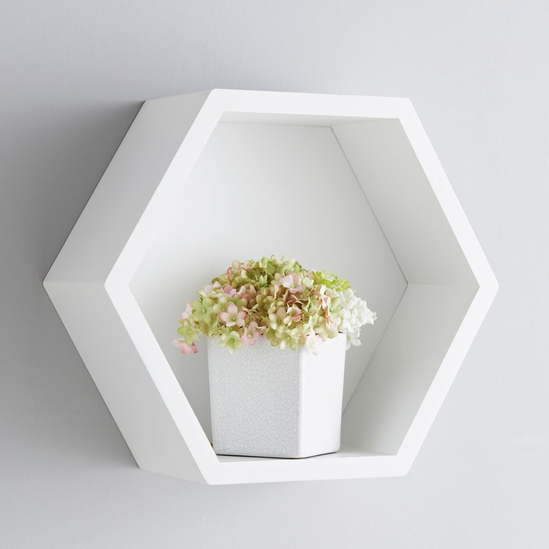 Bjorn Hexagon Shelf Furniture Shelving B Amp M Stores