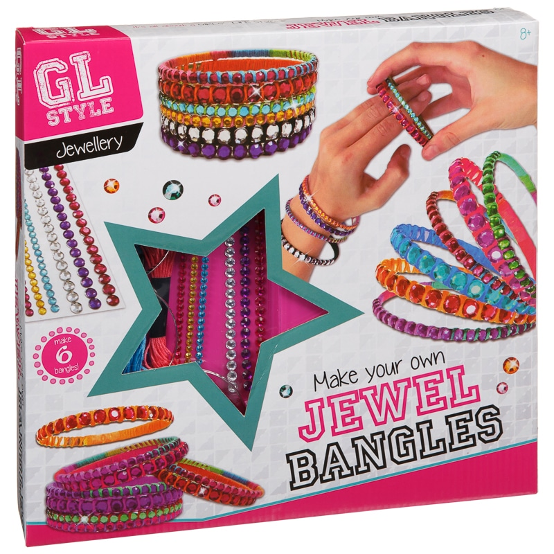 Blingy Bangles Kids Craft And Design Jewellery B Amp M