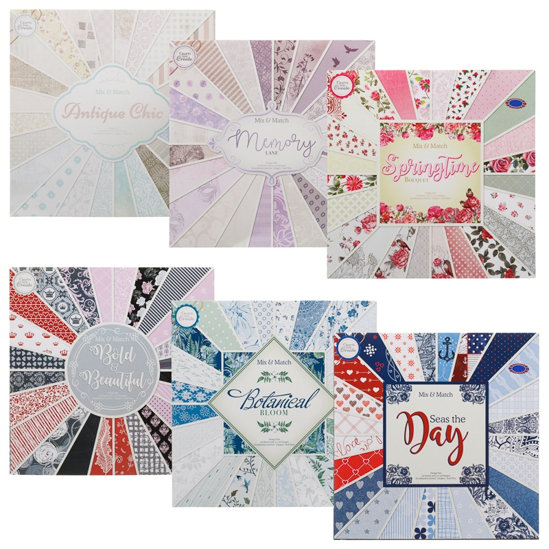 Mixed Design Pads - Memory Lane